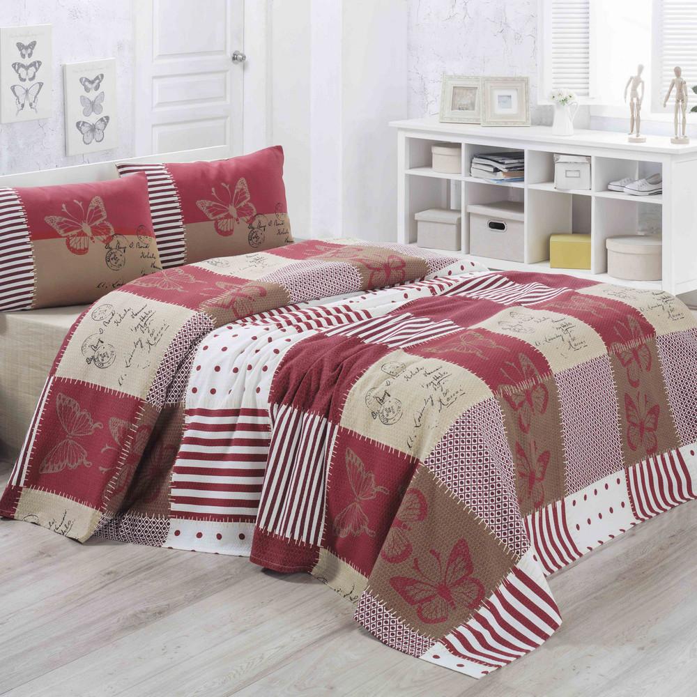 Ľahká prikrývka cez posteľ Butterly, 160x230cm