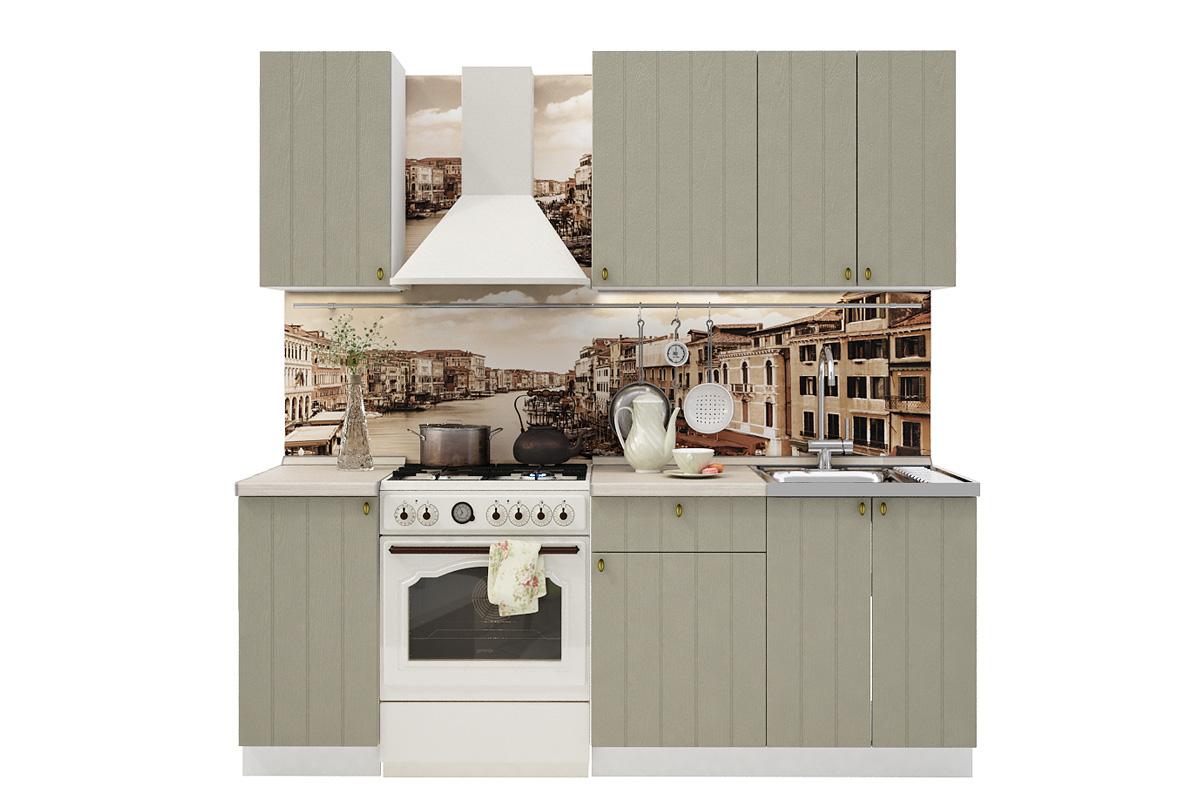 PROVENSAL 150 kuchynská zostava sivá
