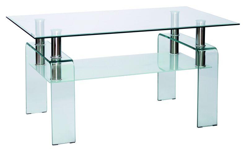 Konferenčný stolík Stella priesvitný