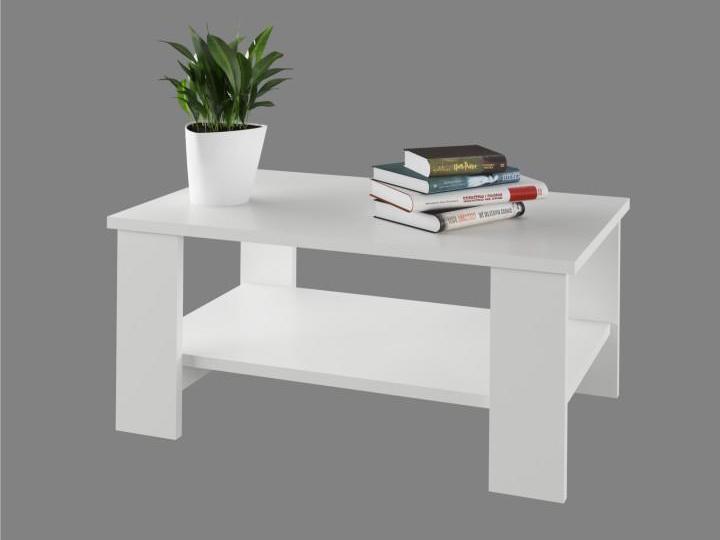 Konferenčný stolík Bernardo (biela)