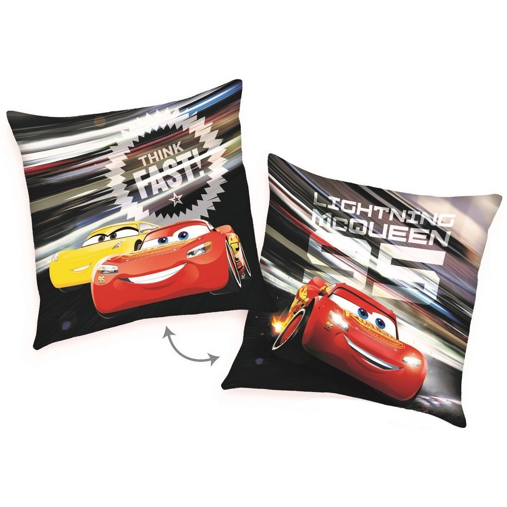 Herding Vankúšik Cars McQueen Fast, 40 x 40 cm,