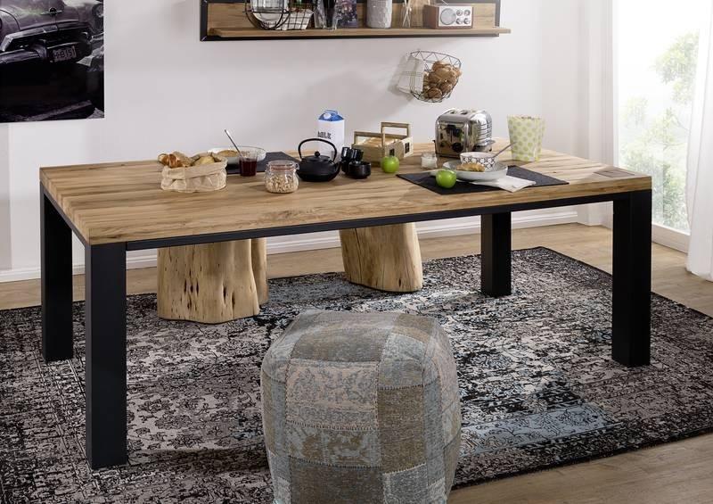 Bighome - TIROL Jedálenský stôl 200x100 cm, prírodná, dub