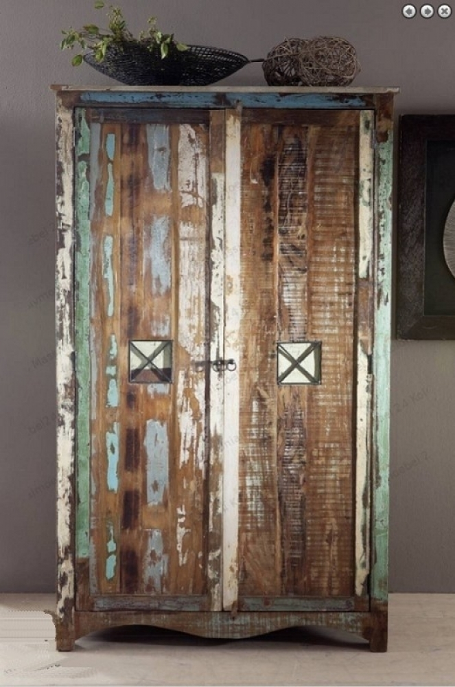 SPIRIT skriňa na oblečenie #42 lakované staré indické drevo