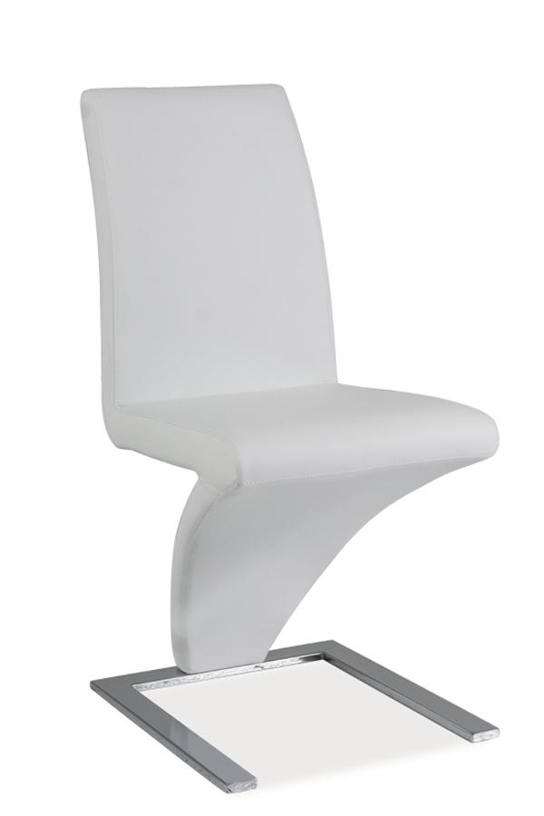HK-010 jedálenská stolička, biela