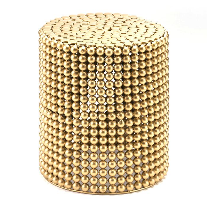 Stolička Thai Natura Golden Metal