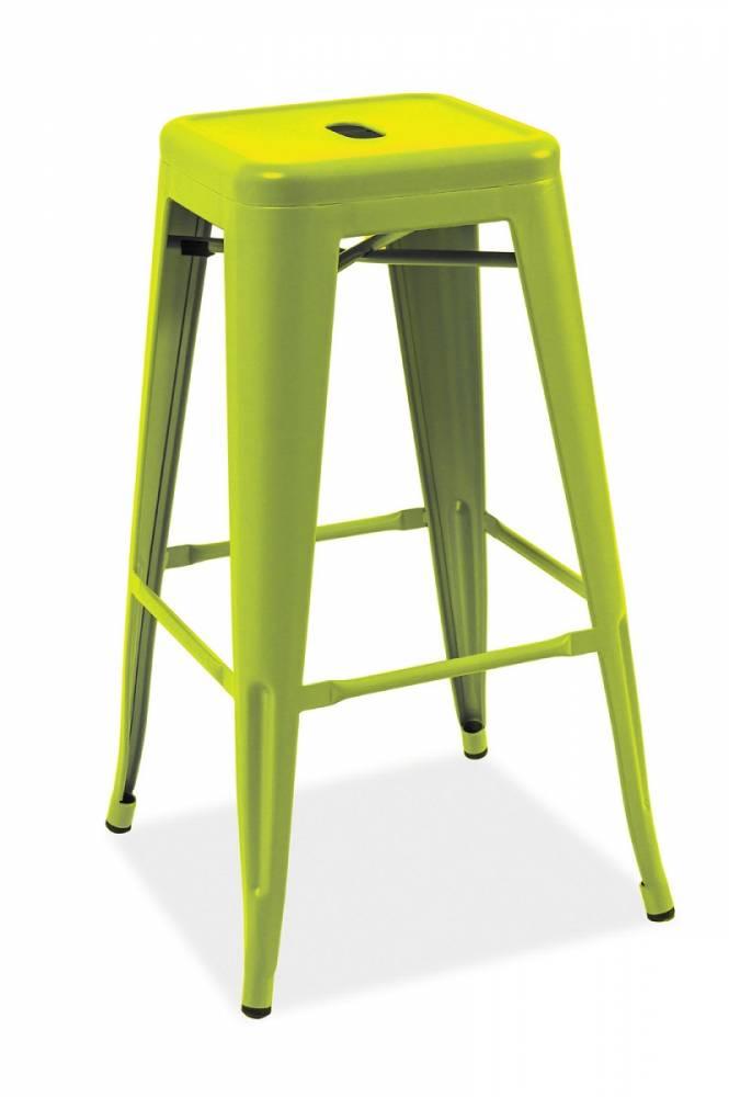 LANG barová stolička, zelená