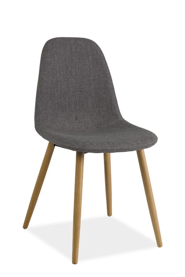 RUBY jedálenská stolička, šedá