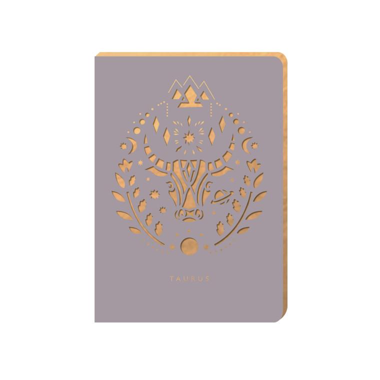 Linajkový zápisník Portico Designs Býk, 160stránok