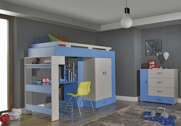 Detská izba Komi D modrá