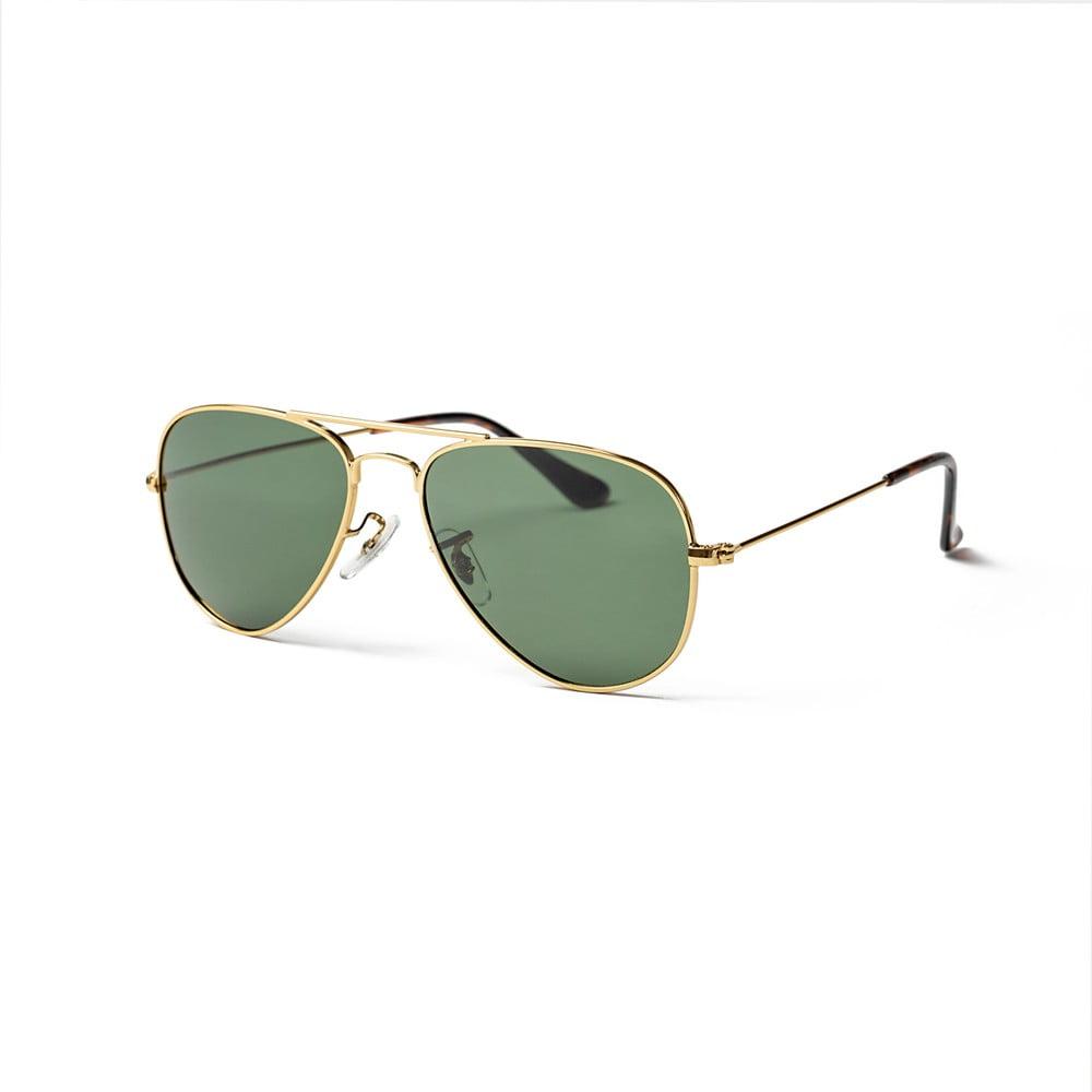 Detské slnečné okuliare Ocean Sunglasses Varese Green Pilot