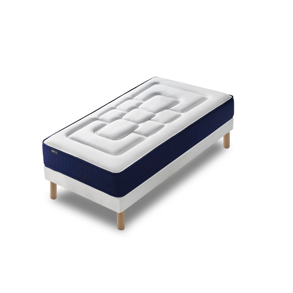 Jednolôžková posteľ s matracom Bobochic Paris Velours, 80 x 200 cm