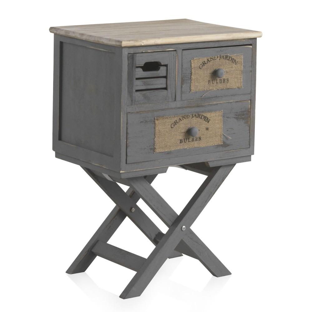 Nočný stolík s 2 zásuvkami Geese Marrakech