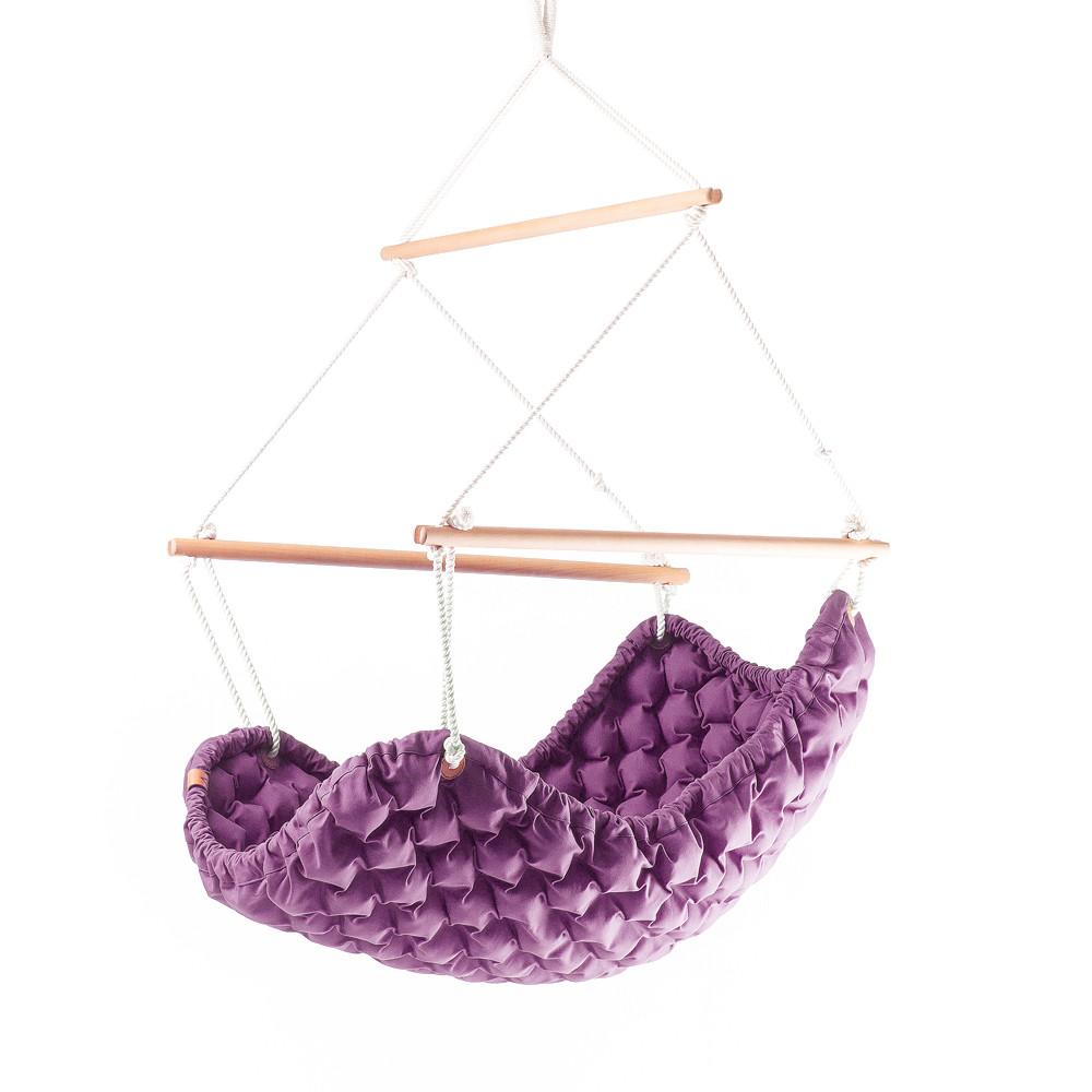 Interiérové hojdacie kreslo Swingy InMystic,fialové