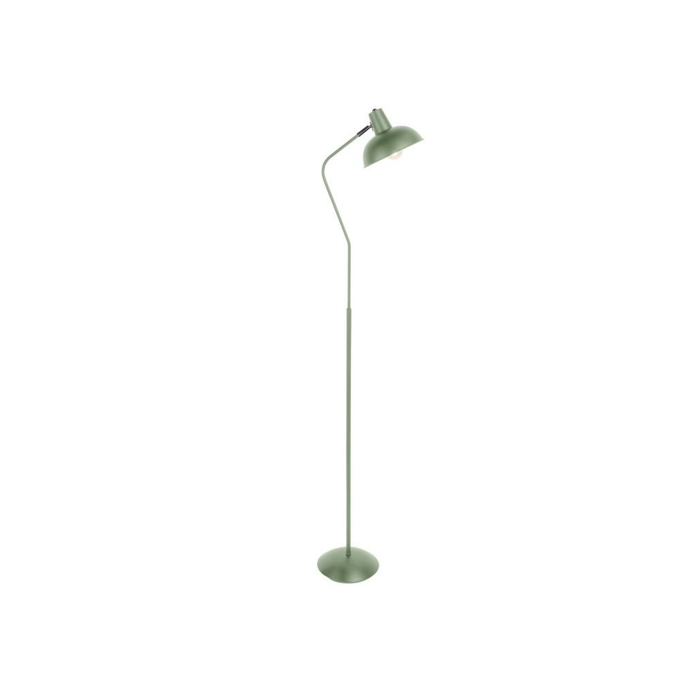Zelená stojacia lampa Leitmotiv Hood