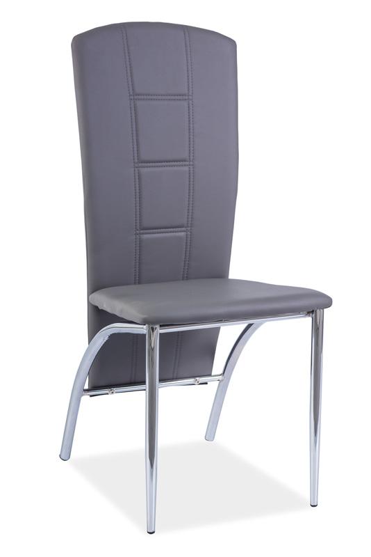 Jedálenská stolička HK-120, šedá