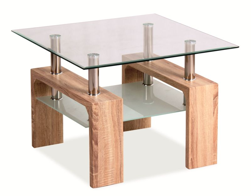 Konferenčný stolík Lisa Basic D (dub sonoma)
