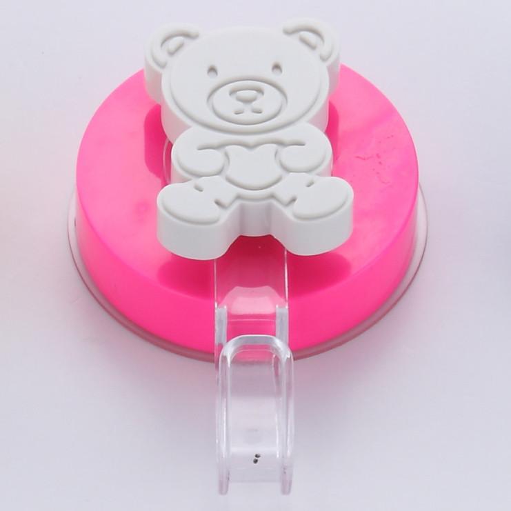 Háčik bez nutnosti vŕtania ZOSO Bear Pink