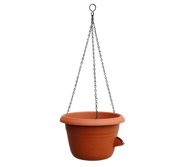 Samozavlažovací závesný kvetináč 25 cm