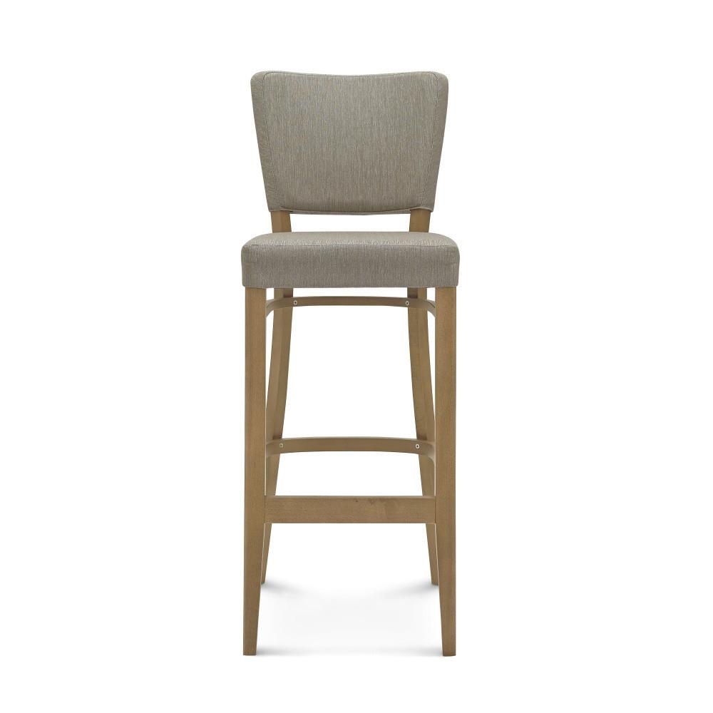 Sivá barová stolička Fameg Axel