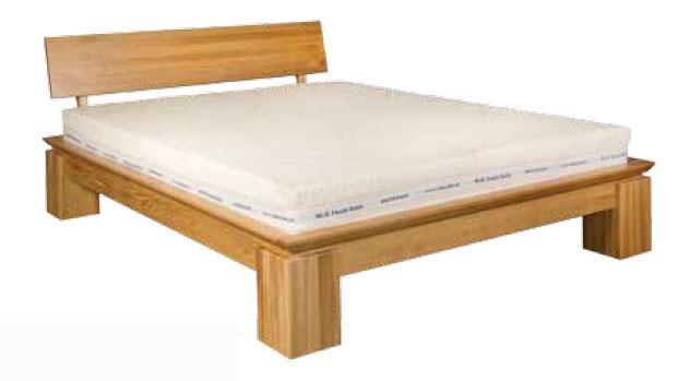 Jednolôžková posteľ 120 cm LK 213 (dub) (masív)