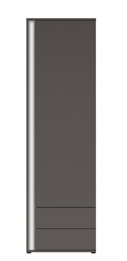 Skriňa Graphic REG1D1S/C P/L   Prevedenie: pravé :sivý wolfram