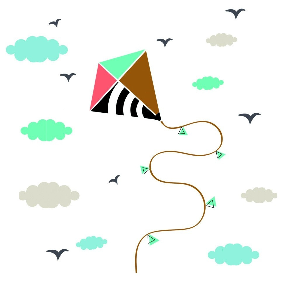 Nástenné samolepky Art For Kids Kite