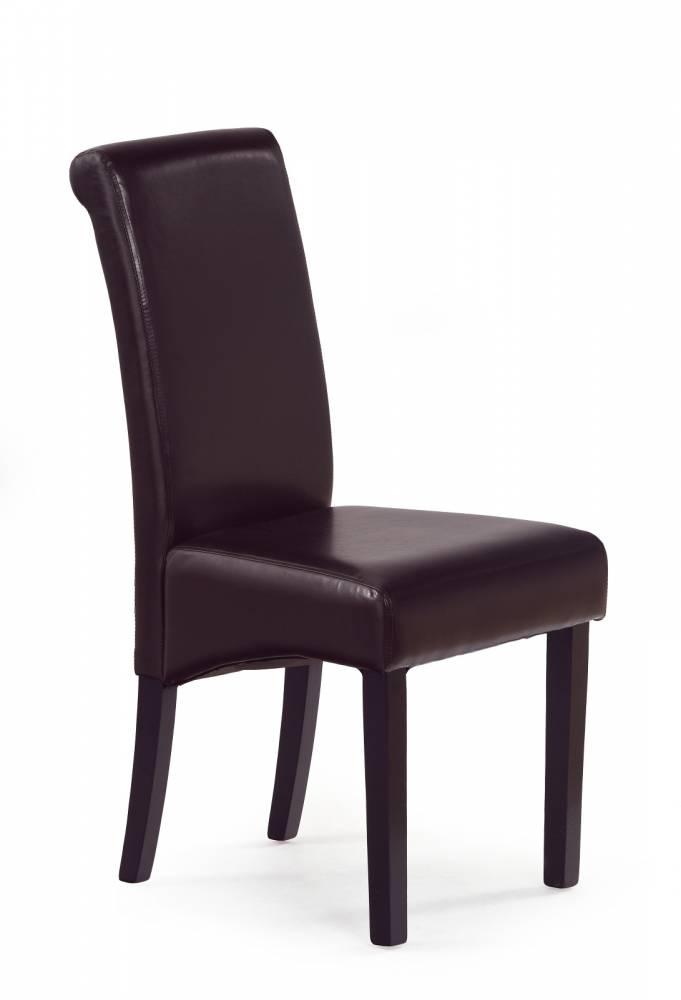 Jedálenská stolička Nero tmavohnedá