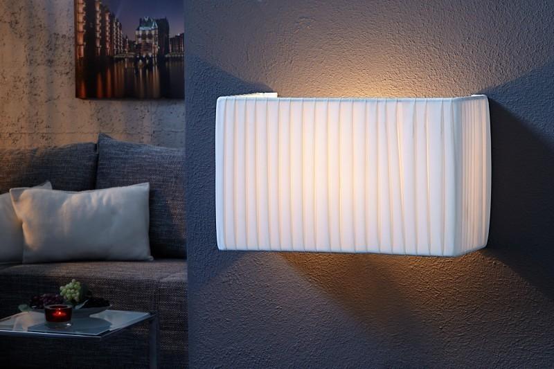 Nástenná lampa ORION - biela