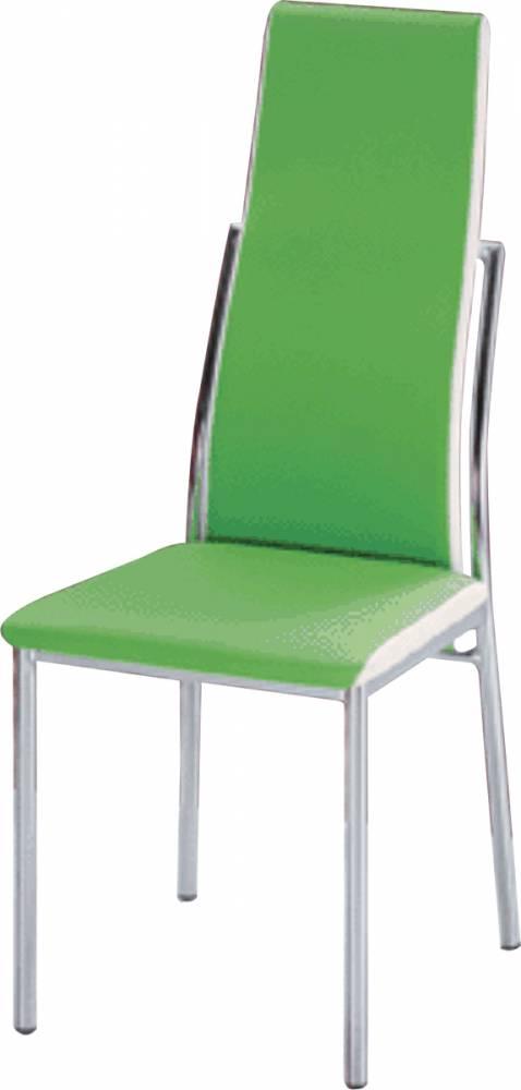 Jedálenská stolička Zora zelená