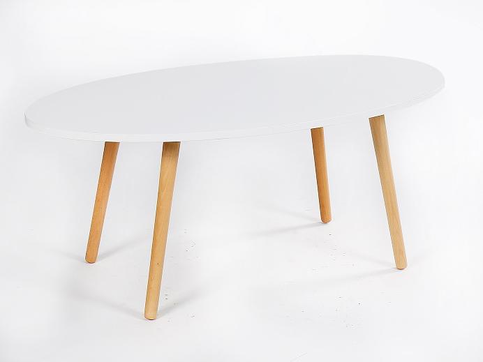 Konferenčný stolík Bazzy 1 (biela)