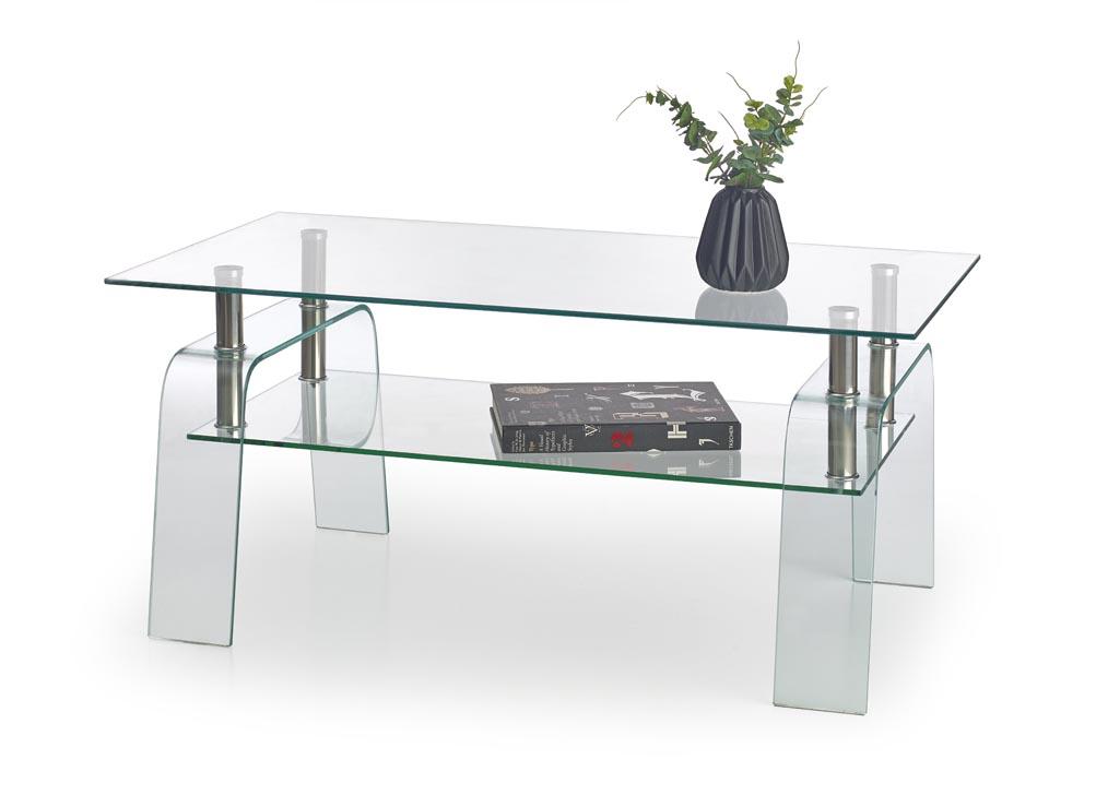 Konferenčný stolík Naomi (sklo)