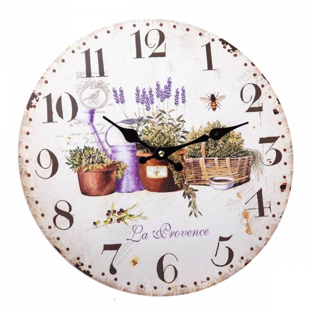 Nástenné hodiny La Provence, 34 cm