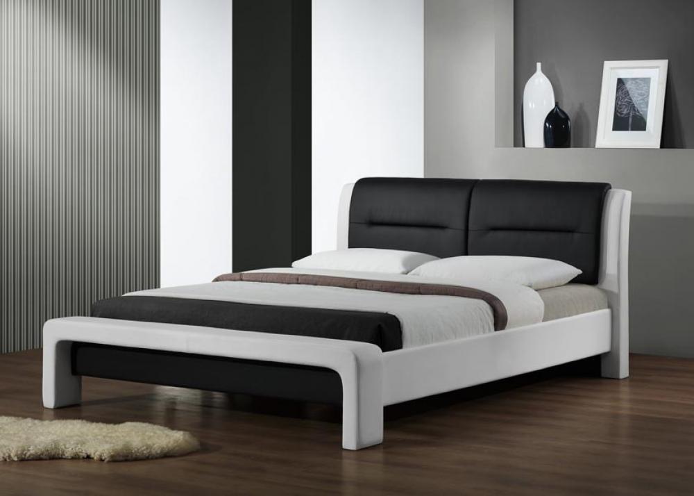 Manželská posteľ 180 cm Italia (s roštom) MOB-4006