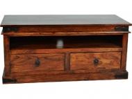 Furniture nábytok  Masívny TV stolík z Palisanderu  Faradž  118x55x55 cm