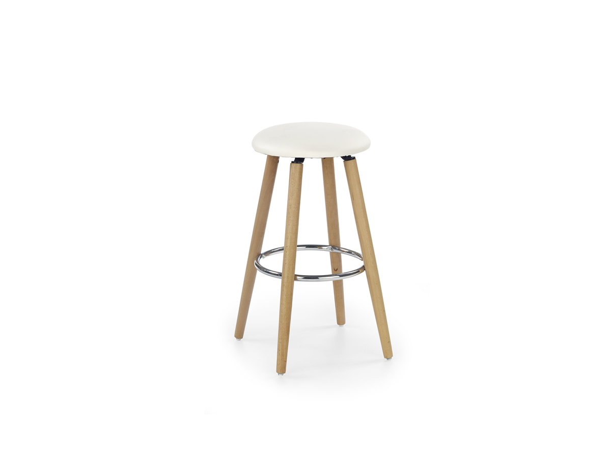 Barová stolička H-76 (krémová)