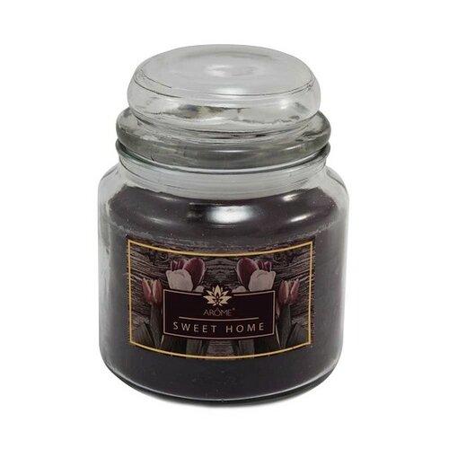 Arome Veľká vonná sviečka v skle Sweet Home, 424 g