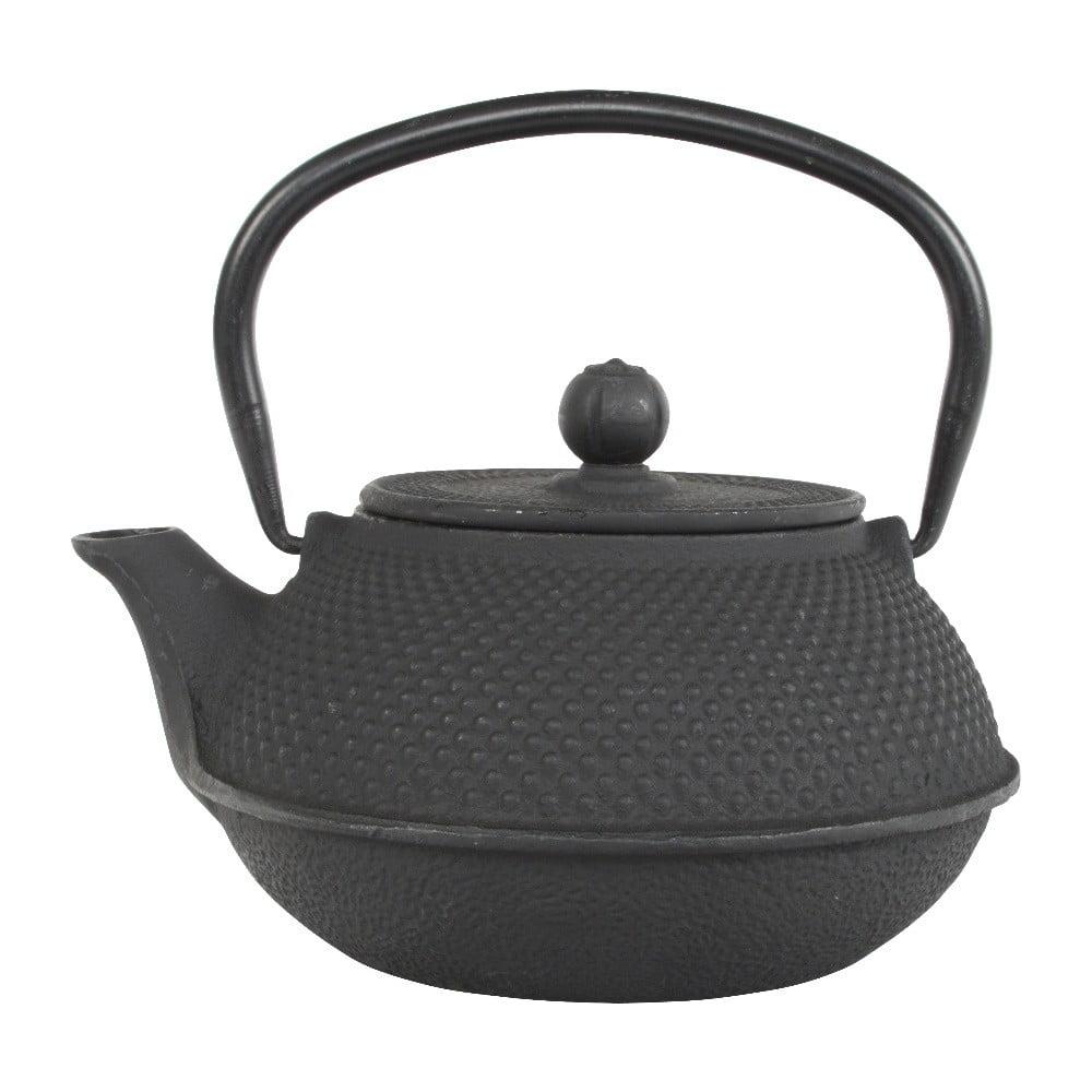 Čierna liatinová kanvica Tokyo Design Studio Xin, 800 ml