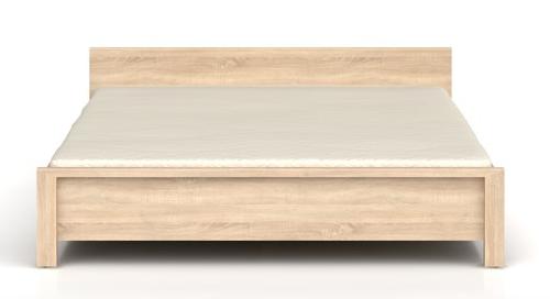 Manželská posteľ Kaspian LOZ/160   Farba: dub sonoma