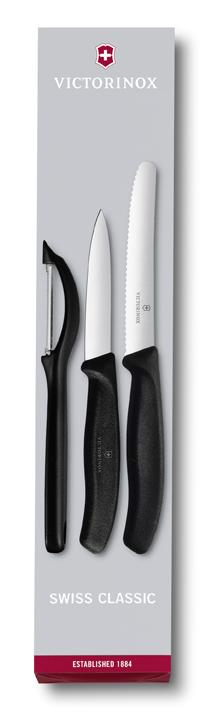 Sada nožov so škrabkou Victorinox 3 ks