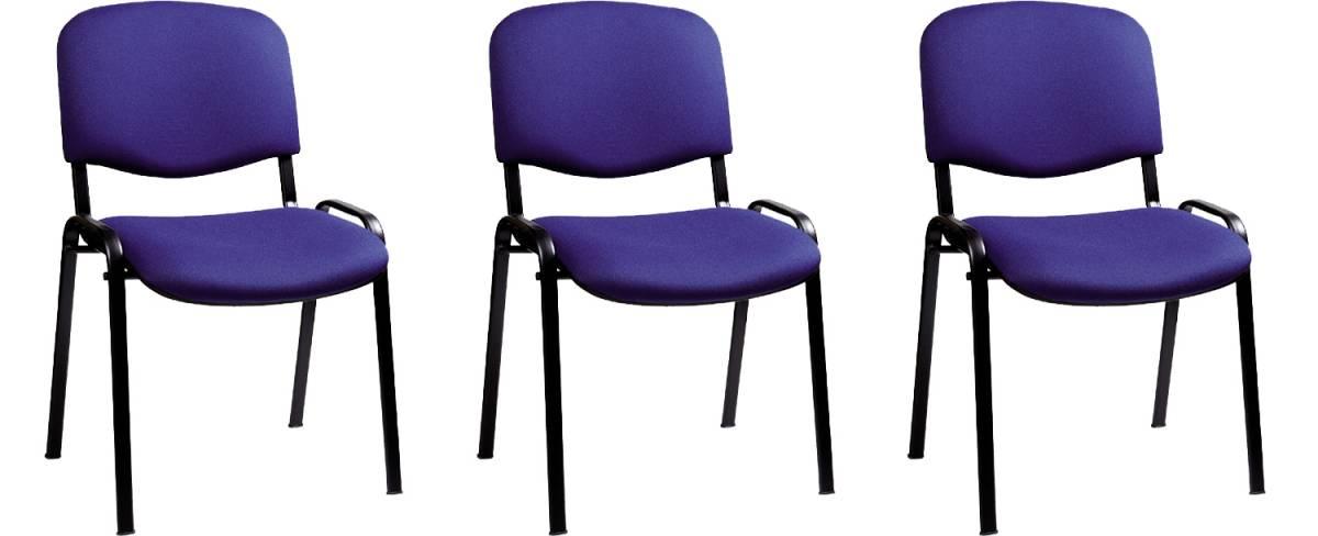 Set 3ks. kancelárských stoličiek Decodom Taurus *výpredaj