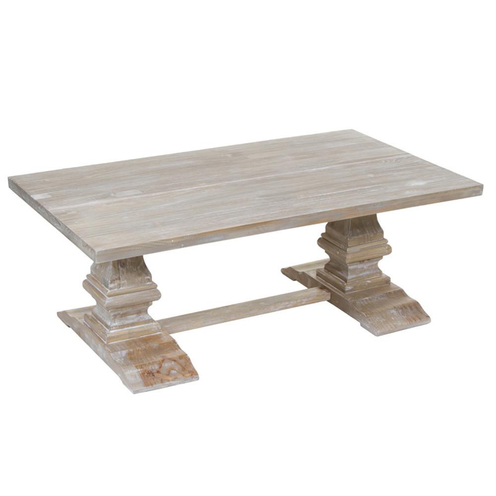 Konferenčný stolík z borovicového dreva Santiago Pons Sévres
