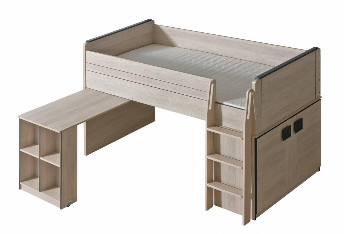 Poschodová posteľ 90 cm G15 (s roštom)