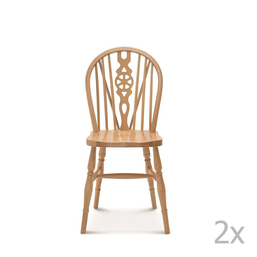 Sada 2 drevených stoličiek Fameg Ib