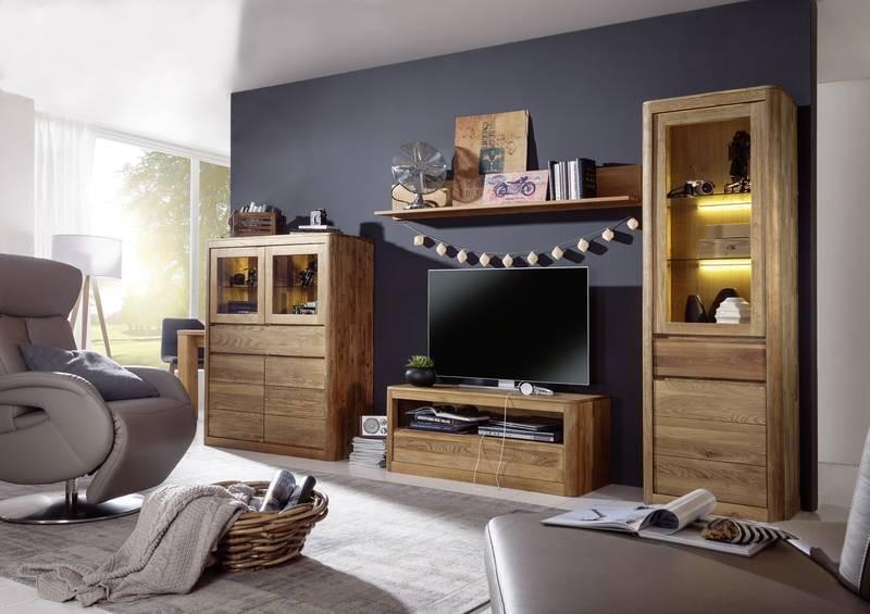 Bighome - VIENNA Obývacia stena, dub