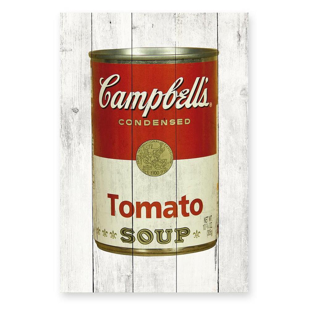 Drevená ceduľa Really Nice Things Tomato Soup