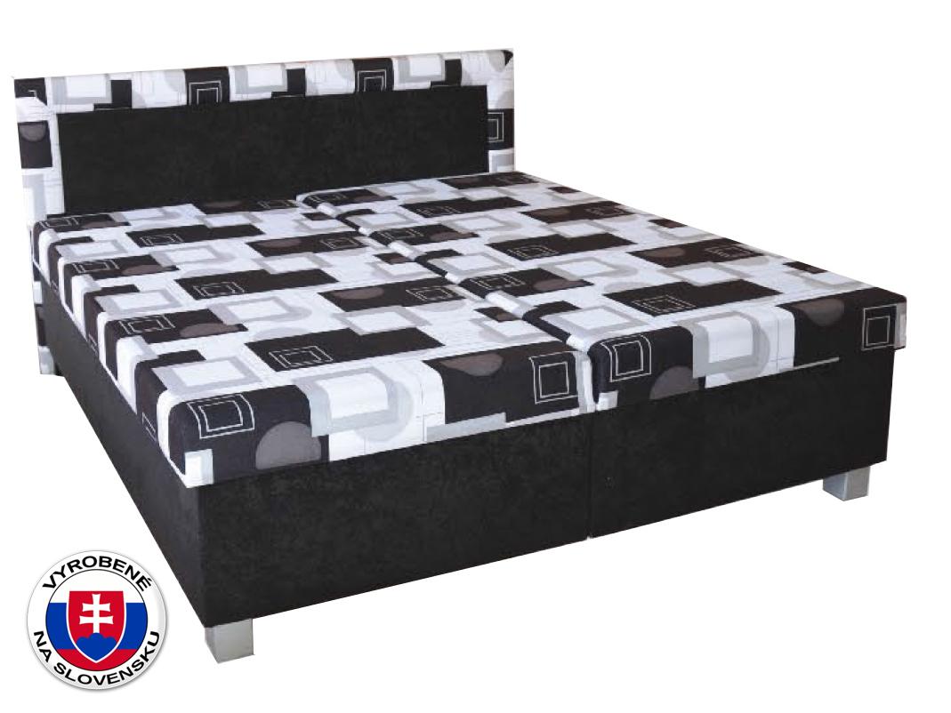 Manželská posteľ 180 cm Maja (so sendvičovým matracom)