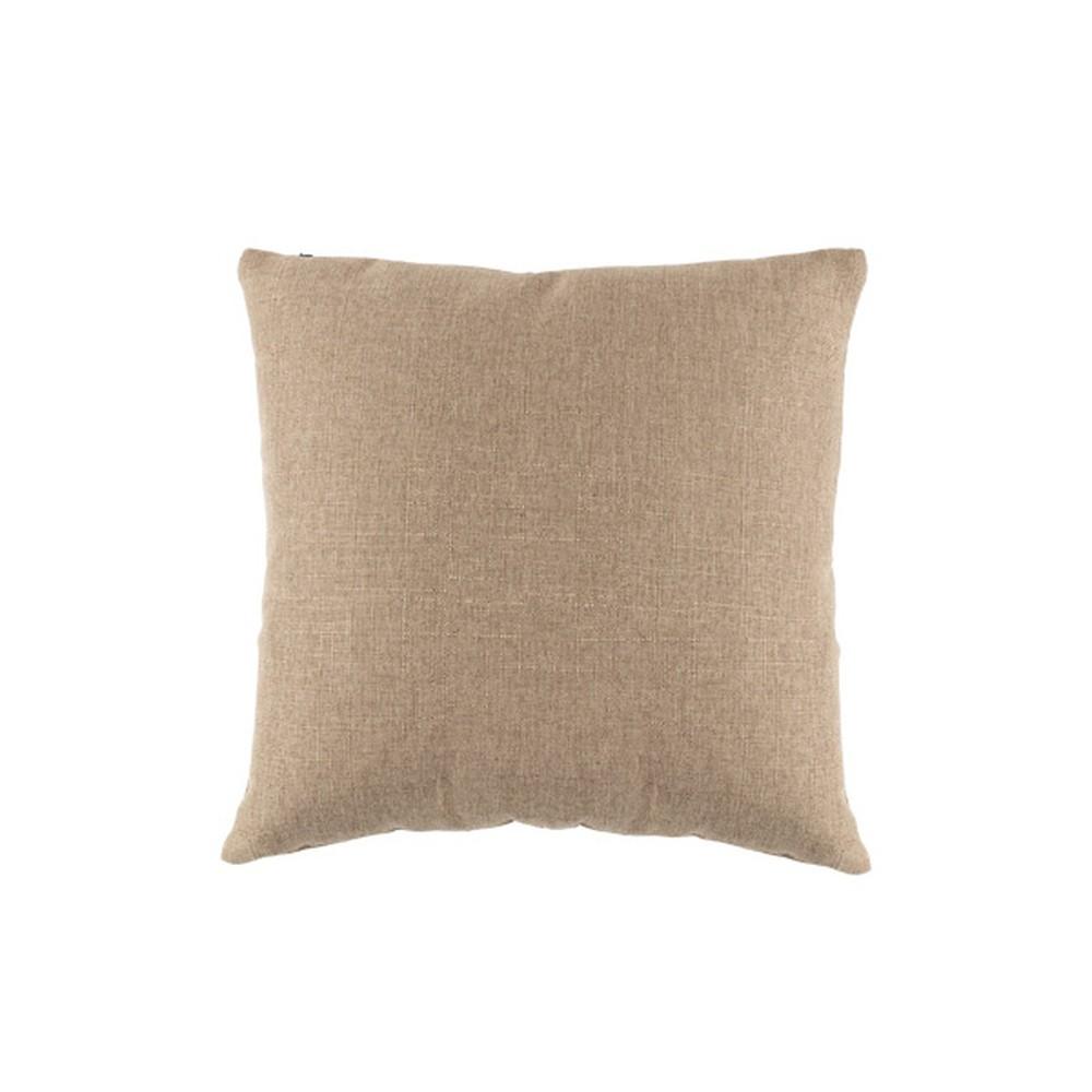 Hnedý vankúš White Label Tim, 45 x 45 cm