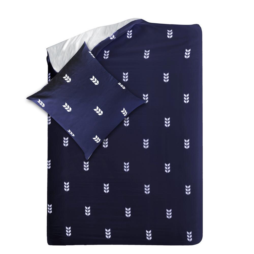 Modré obliečky Hawke & Thorn Finch, 155x220cm