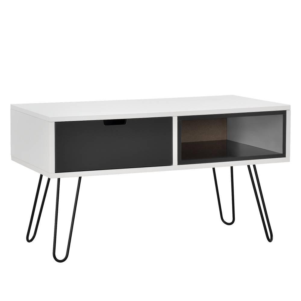 [en.casa]® Stolík - TV stolík