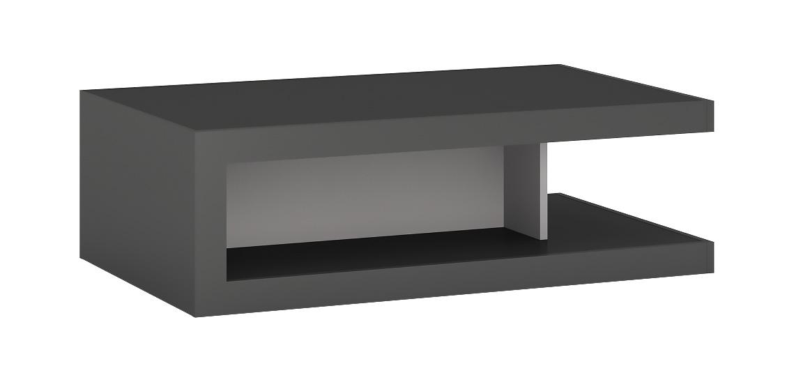 LYNO T02 konferenčný  stolík na kolieskách, lyon tmavý